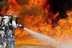 Remote Control Plane Starts Brush Fire